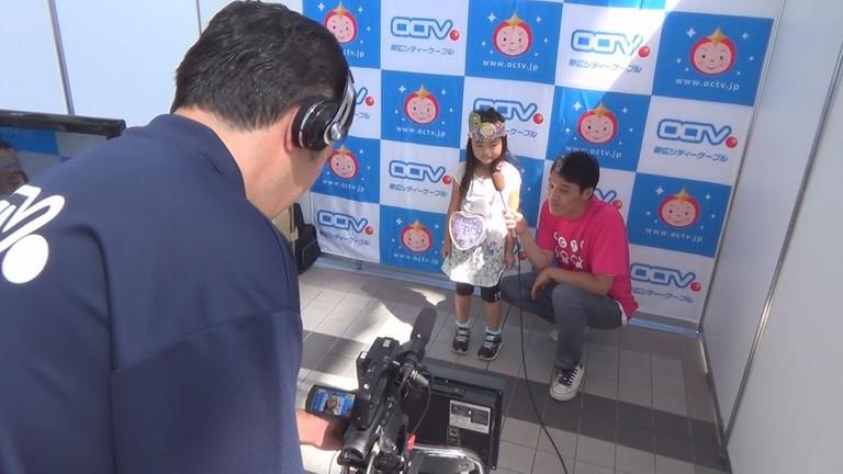 OCTVチャンネルファンミーティング コミチャンCM撮影体験