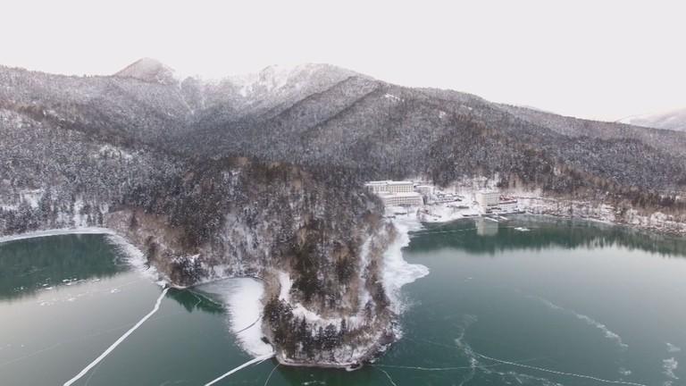 11月の北海道空中散歩