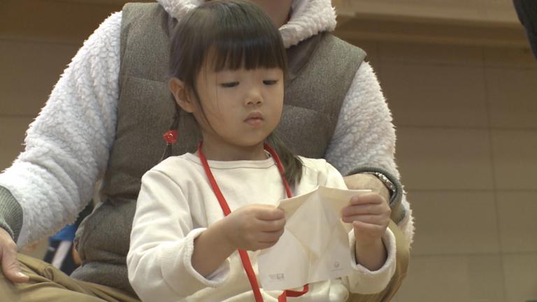 JAL折り紙ヒコーキ全国大会・帯広予選会