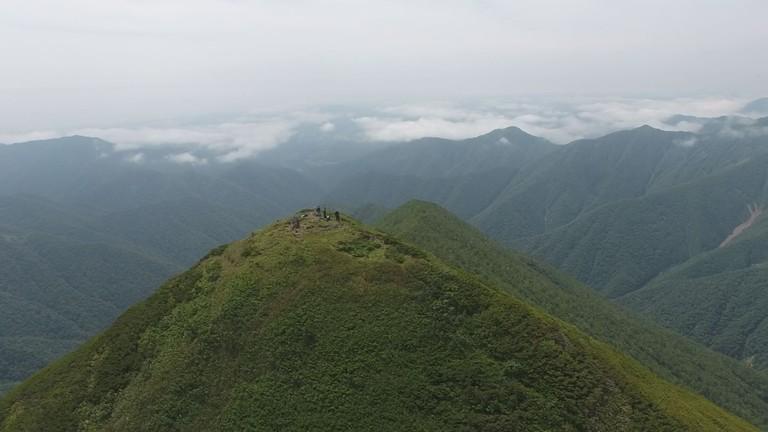 8月の北海道空中散歩
