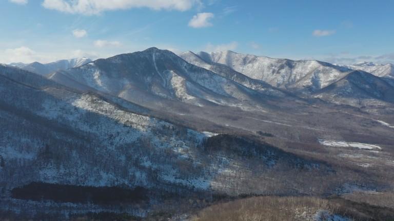 2月の北海道空中散歩