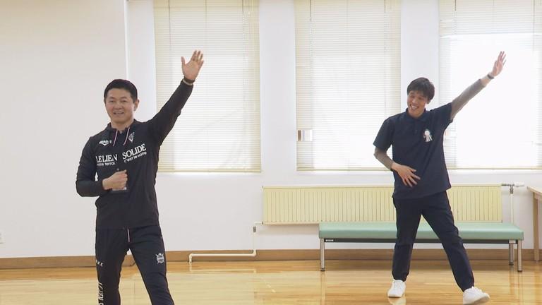 健康体操「オビロビ~脱メタボ編~」で運動不足解消!